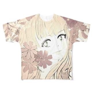 コスモス III Full graphic T-shirts