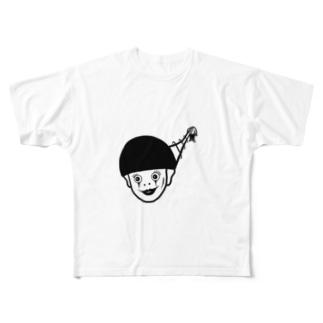 ハッピーハローウィン Full graphic T-shirts