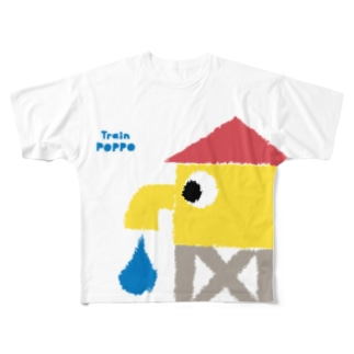 WATER TOWER Full graphic T-shirts