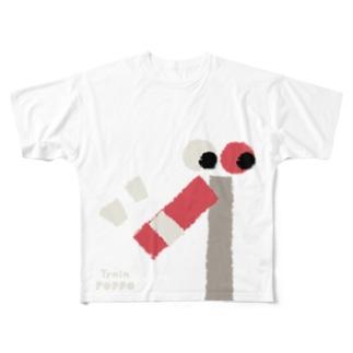 RAILWAY SIGNAL Full graphic T-shirts
