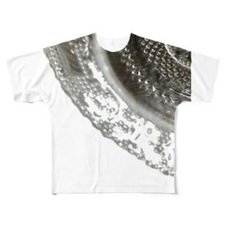 オサラノレース🍽 Ongakus photo goods  Full graphic T-shirts