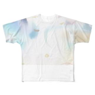 ゆめかわな世界 Full graphic T-shirts
