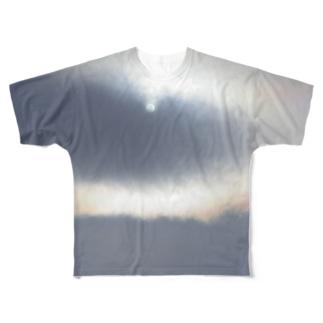 彩雲と太陽とエンジェルリング Full Graphic T-Shirt