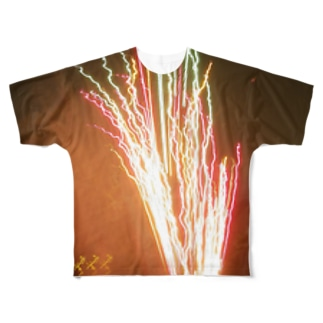 Light of party Full graphic T-shirts