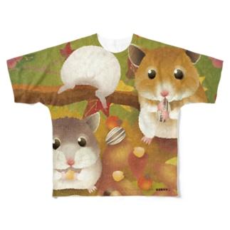 KENSYO vol.114 「ハムスター」 Tシャツ Full graphic T-shirts