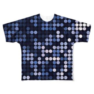 艶美ドット Full graphic T-shirts