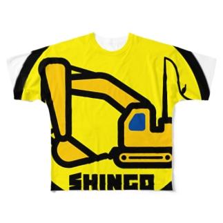 パ紋No.2833 SHINGO  Full graphic T-shirts