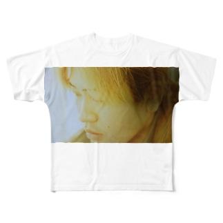 半蔵 Full graphic T-shirts