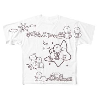 「こどもごころのぽぉけっと。」FGTS18 Full graphic T-shirts