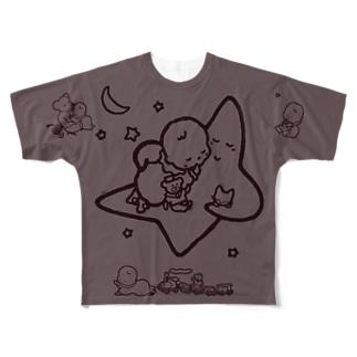 「こどもごころのぽぉけっと。」FGTS15 Full graphic T-shirts