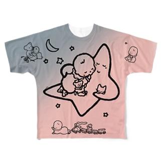 「こどもごころのぽぉけっと。」FGTS13 Full graphic T-shirts