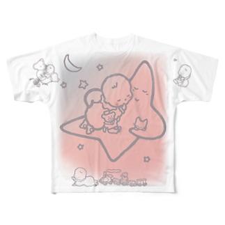 「こどもごころのぽぉけっと。」FGTS12 Full graphic T-shirts