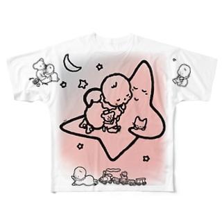 「こどもごころのぽぉけっと。」FGTS11 Full graphic T-shirts