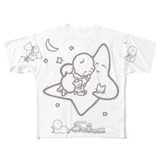 「こどもごころのぽぉけっと。」FGTS10 Full graphic T-shirts