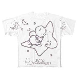 「こどもごころのぽぉけっと。」FGTS09 Full graphic T-shirts