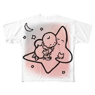 「こどもごころのぽぉけっと。」FGTS04 Full graphic T-shirts