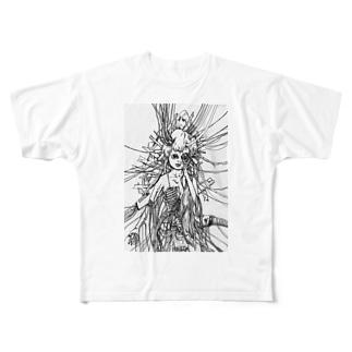 機械少年 Full graphic T-shirts