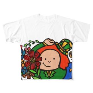 Monsieur Bonjour! Full graphic T-shirts