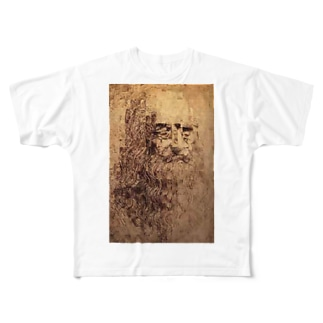 Leonardo da Vinci Full graphic T-shirts