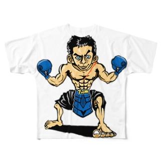 ASBスタッフ「タムタム」アイテム  Full graphic T-shirts