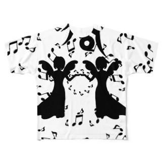 乙女座 Virgo  Full graphic T-shirts