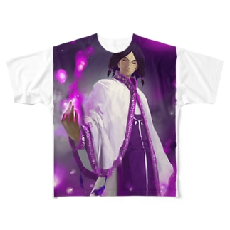 闘技演武【公式グッズ】MGF04運命の従者クラウシード Full graphic T-shirts