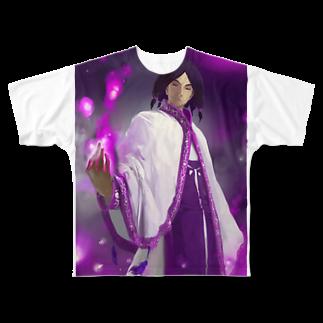 TOUGIENBU【公式グッズ】の闘技演武【公式グッズ】MGF04運命の従者クラウシード Full graphic T-shirts