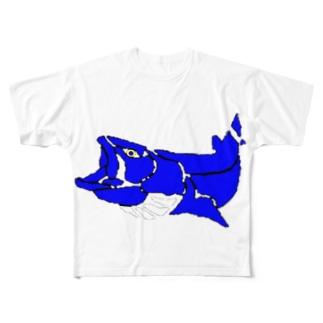 北海道 猿払村長へ。 Full graphic T-shirts