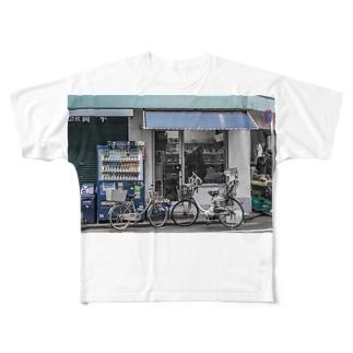 スナップ Full graphic T-shirts
