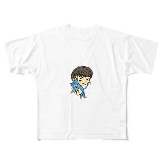 ロックロックのわたしとロックロック Full graphic T-shirts