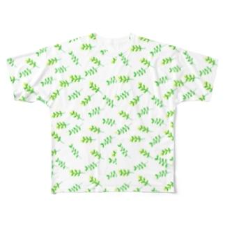 ミモザ Full graphic T-shirts
