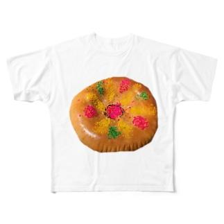 ウズベキスタンで買ったでかいパン Full graphic T-shirts