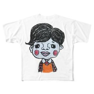 みみ子ちゃん Full graphic T-shirts