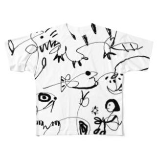 りょうた フルグラTシャツ① Full graphic T-shirts