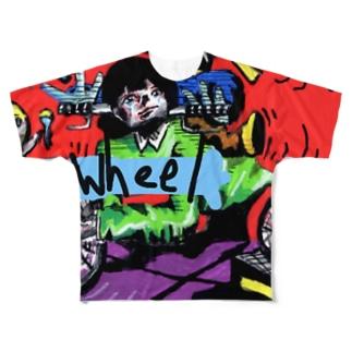 wheel Full Graphic T-Shirt