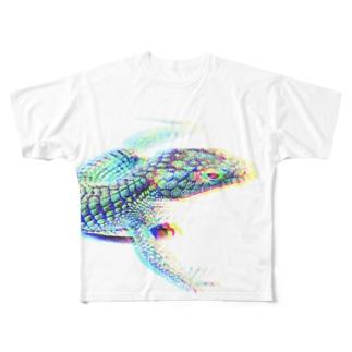 """BROKEN"" Abronia graminea Full graphic T-shirts"