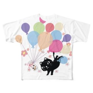 CT110*1902風船の種A Full graphic T-shirts