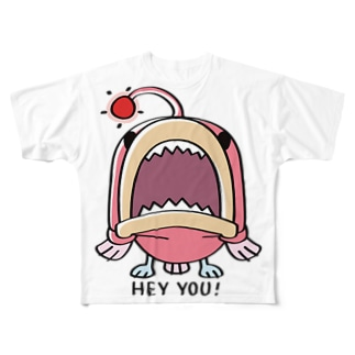 CT32海の底のあんこ姫*HEY YOU!*A Full graphic T-shirts