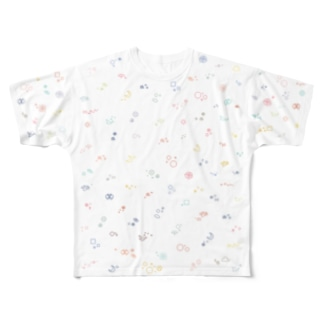 細かいドット絵Tシャツ Full graphic T-shirts