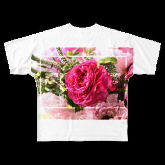 架空バンドのTシャツ屋さんのFLUKE Tシャツ Full graphic T-shirts