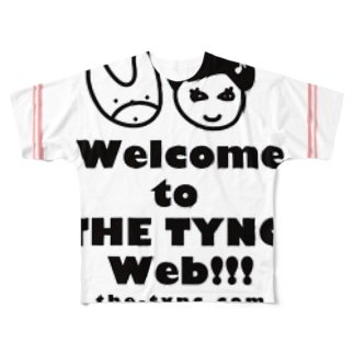 THE TYNC [Coming Soon ! - ROSE]  Full graphic T-shirts