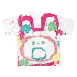 ゆるたろう Full graphic T-shirts