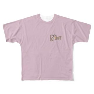 kiitosオリジナルロゴ Full graphic T-shirts