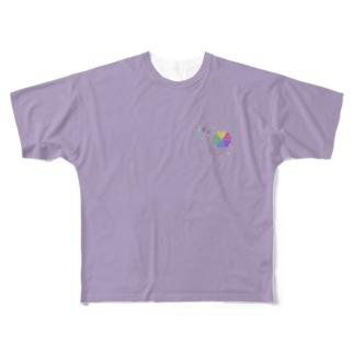 """kiitosモデルグループ""""apilaデザイン"""" Full graphic T-shirts"""