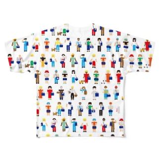 ゴゴゴゴゴインチャー Full graphic T-shirts