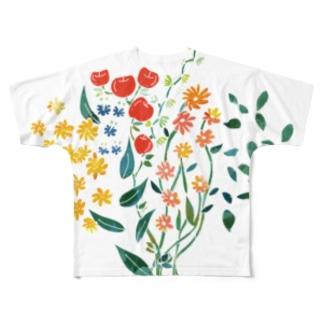 りんごの花 Full graphic T-shirts