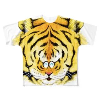 タイガーさん フルグラフィックTシャツ