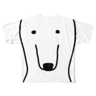 普通なクマさん Full graphic T-shirts