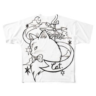 222cat Full graphic T-shirts