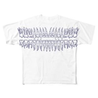 dentata Full graphic T-shirts